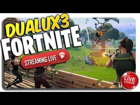 DUALUX3 LIVE Fortnite (INSANE HEADSHOTS, Duo's, 2 WINS! & Tips)