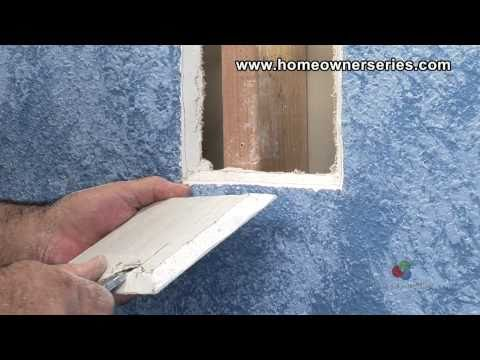 How to Fix Drywall - Wall Stud Patch - Drywall Repair - Part 1 of 2