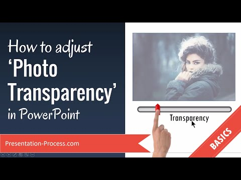 PowerPoint Photo Transparency Trick