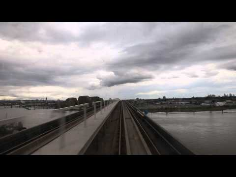 Skytrain Journey from Vancouver Airport