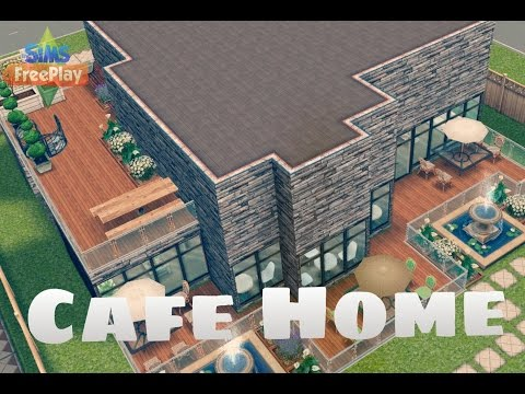 Sims Freeplay - Cafe Home
