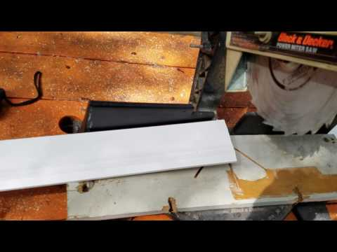 How to cut angles for baseboards and molding