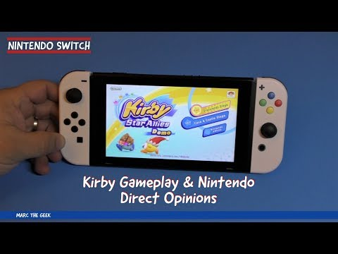 Kirby Gameplay & Nintendo Direct Opinions
