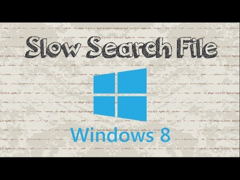 How to Fix Slow Start Screen Search in Windows 8 / 8.1
