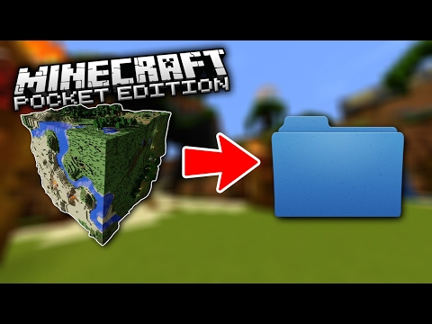 HOW TO BACKUP & COPY YOUR MINECRAFT PE WORLDS WITHOUT COMPUTER ON iOS WITH JAILBREAK!