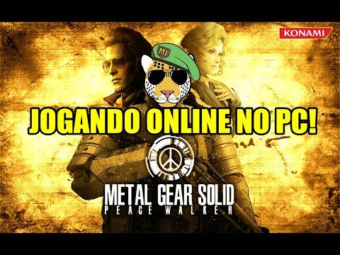 Tutorial Como jogar Metal Gear Solid: Peace Walker Online no PC