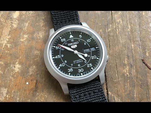 018848e9a The Seiko 5 SNK-809 $50 Mechanical Wristwatch: The Full Nick Shabazz Review  - PlayItHub Largest Videos Hub