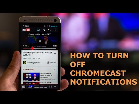 How to Turn Off Chromecast Notifications