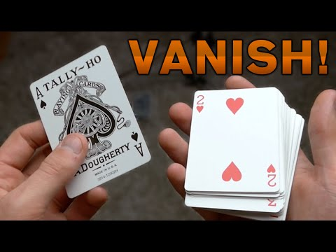 EASY COOL Card Vanish - TUTORIAL (Visual Vanish)
