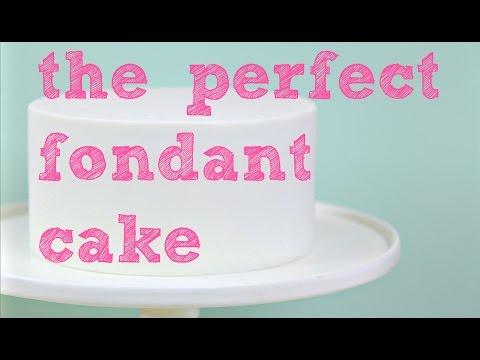 The perfect fondant cake - CAKE STYLE