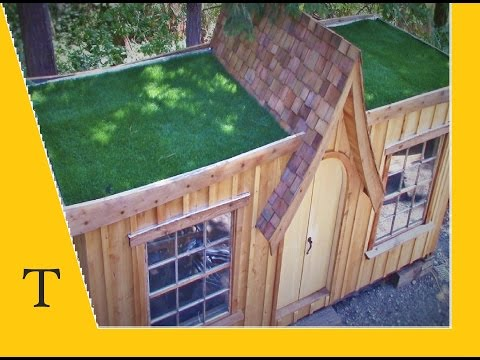 Shipping container conversion series video 16 (how to build a DIY green roof)