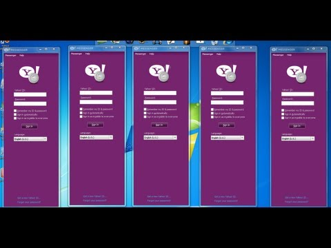 How To Open Multipal  Yahoo Messager The Same Time.