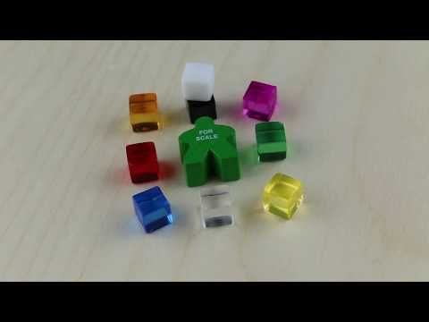 Ice Cube - Board Game Pieces from The Game Crafter