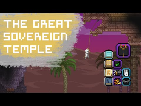 Starbound The Great Sovereign Temple | Armor, Cosmetics, Kluex Staff, Codexes