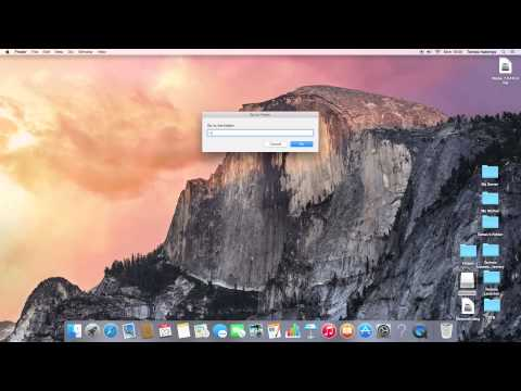 How to access your minecraft folder in mac osx 10.10.2 / 10.10.7