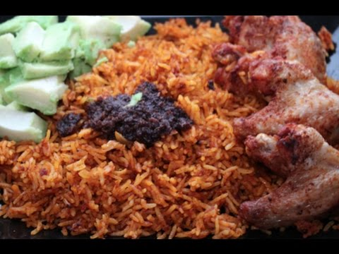 Jollof Rice with corned beef | Cooking with Akos