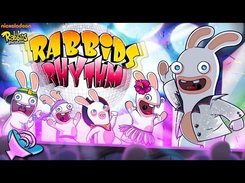 Rabbids Invasion: Rabbids Rhythm - Fun Dancing Music (High-Score Gameplay)
