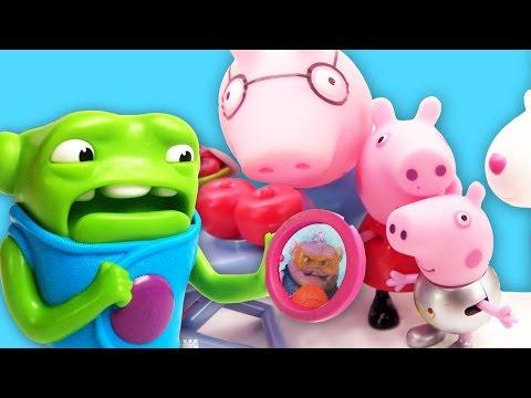 свинка пепе мультфильм полет на шаре