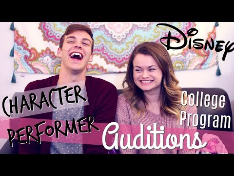 Disney College Program Character Performer Auditions Experience! Ft. Noah