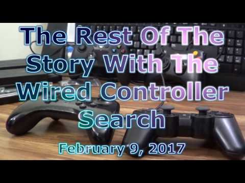 The Rest Of The Story With The Wired Controller Search