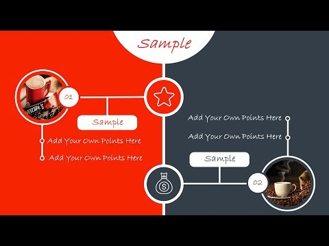 PowerPoint Infographic Presentation Slide Design Tutorial with Free Template