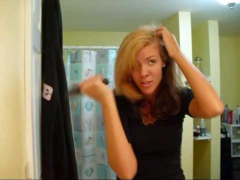 How to get rid of greasy hair. With out washing it!