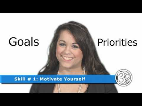 Skill # 1: Motivate Yourself | 3CSkills.org