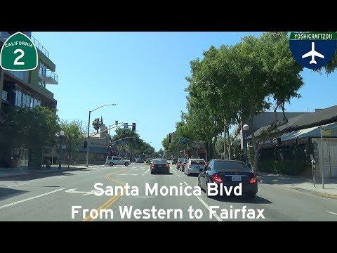 (5-8) Santa Monica Blvd from Western to Fairfax