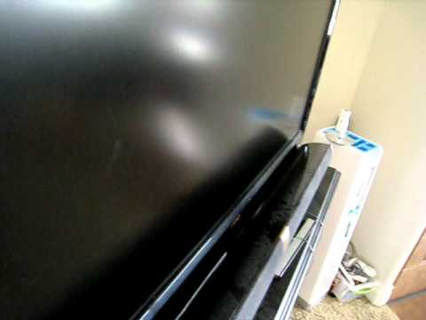 Using the Norwex Optic Cloth on a Flat Anit-Glare TV