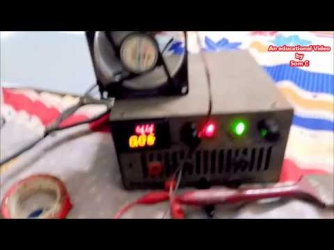 How to connect a Digital Volt meter and Ammeter to your DIY Variable Regulated DC Power supply
