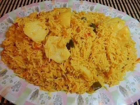 Tahari (Yellow Veg Pulao)