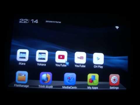 HCMLIKE Huong dan hat Karaoke tren Android TV Box