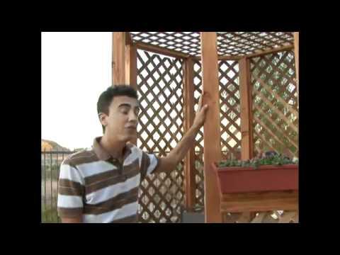 How to Build a Gazebo - 24.Make Gazebo Alterations