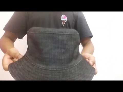 Bucket Hat Jeans 2 - Chapéu Redondo