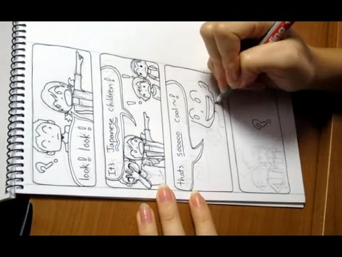 How I draw comics! (My Life in Japan)