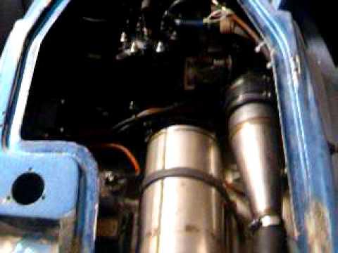 Fazer jetski building 650 first motor start,  more to do.... 1