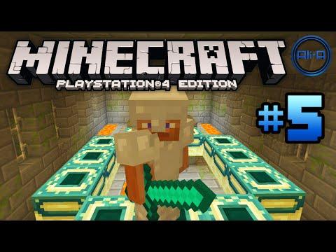 Minecraft PS4 gameplay Part 5 -