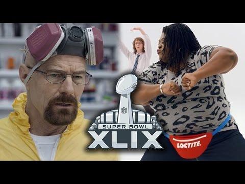 Best Super Bowl XLIX 2015 Commercials - Walter White, Loctite & More