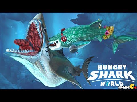 MEGALODON Shark Vs WHALE Shark Arabic Sea - Hungry | lKfnGSTnZ_0