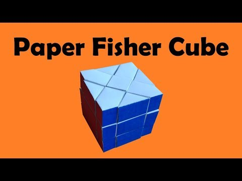 Fisher Cube out of paper