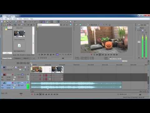 Sony Vegas pro 11: Beginner tutorial
