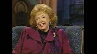 Audrey Meadows on Later with Bob Costas, April 3-4, 1990
