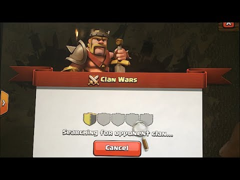 Clash of clans - Clan Wars Matchmaking ( How it works )