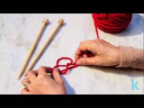 Knitting: Slip Knot