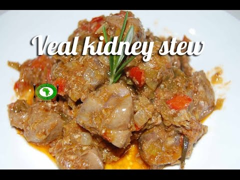 Veal kidney stew recipe