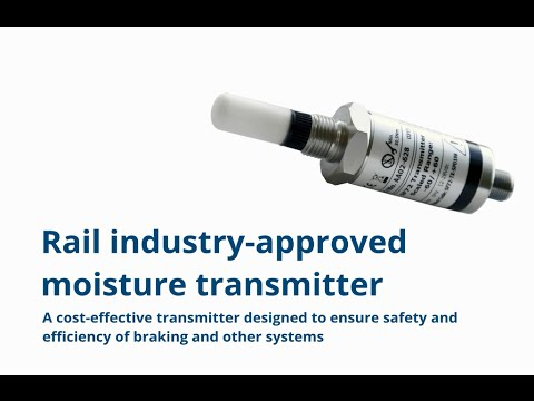 Rail Industry-Approved Dew-Point Transmitter