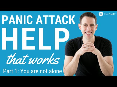 Panic Attack Help - Part 1: You Are Not Alone (Surprising Scientific Research)