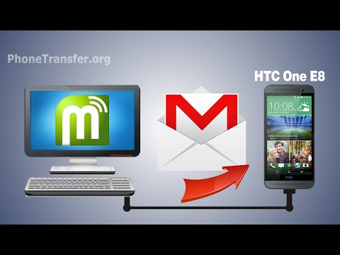 [Gmail Contacts to HTC One E8]: How to Import Contacts from Gmail to HTC One E8
