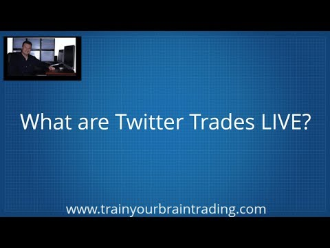 Twitter Trades LIVE Alerts - Train Your Brain To Trade Successfully