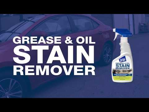 How to Remover Grease & Oil Stain from Car Interior